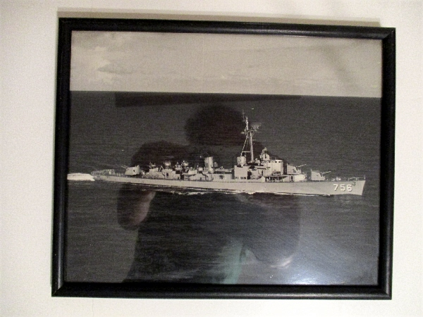 Image for USS Beatty DD 756. (Photo, framed)