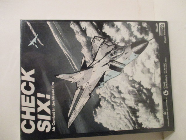 Image for Check Six! Air Combat in the Missile Era.