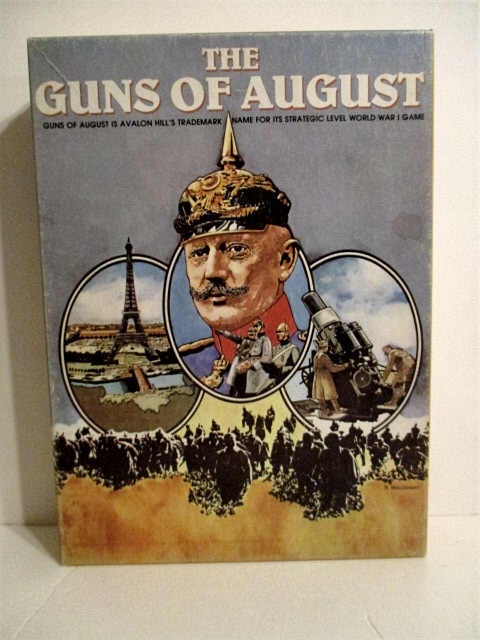 Image for Guns of August: Strategic Level World War I Game.