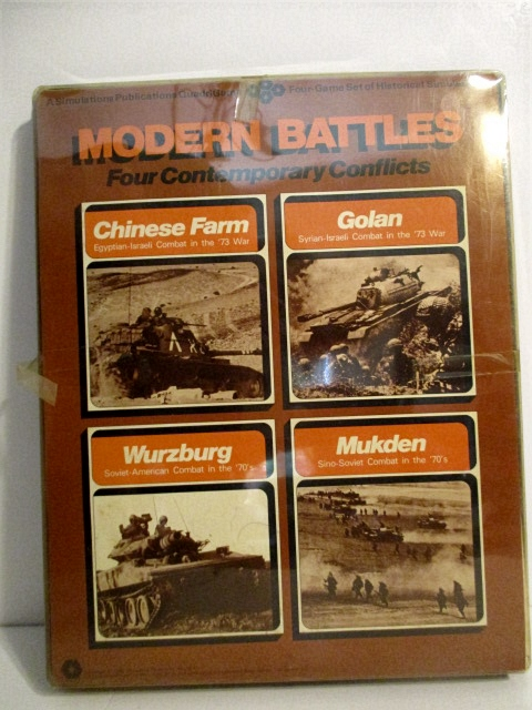 Image for Modern Battles, Four Comtemporary Conflicts: Chinese Farm, Golan, Wurzburg, Mukden.