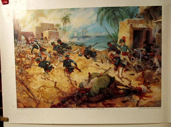 Image for Assault on Derna, Tripoli March 27, 1805.