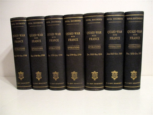 Image for Naval Documents Related to the Quasi-War Between the United States and France: Naval Operations. Complete set of 7 vols.
