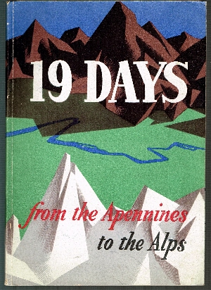 Image for 19 Days from the Apennines to Alps: Story of the Po Valley Campaign.