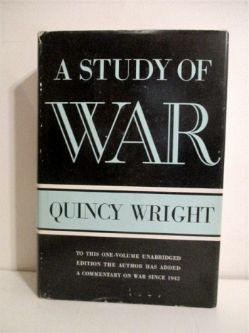 Image for A Study of War.