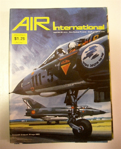 Image for Air Enthusiast International Volume 7  Nos 1-6