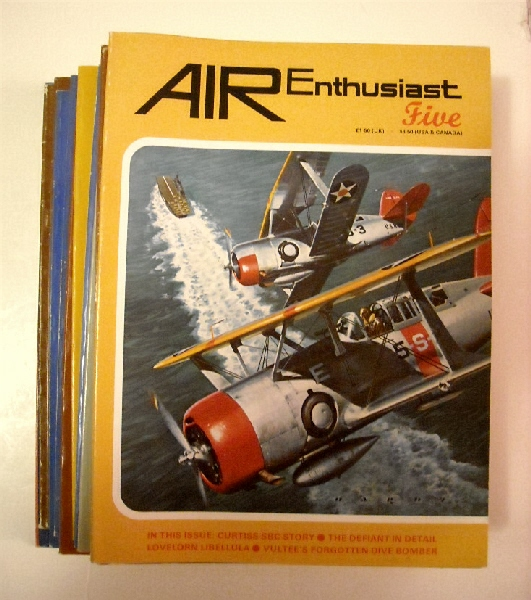 Image for Air Enthusiast Numbers 5 to 48. (15 issues).