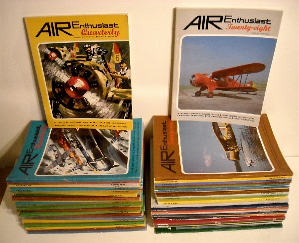 Image for Air Enthusiast Quarterly / Air Enthusiast Numbers 1 to 77. (60 issues).