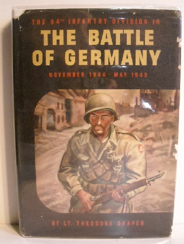 Image for 84th Infantry Division in the Battle for Germany, November 1944-May 1945.