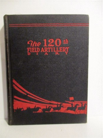 Image for 120th Field Artillery Diary 1880-1919.
