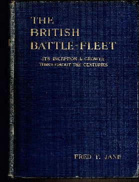 Image for British Battle Fleet: Its Inception and Growth Throughout the Centuries.