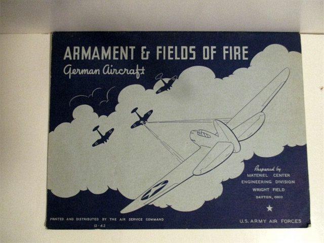 Image for Armament & Fields of Fire: German Aircraft.