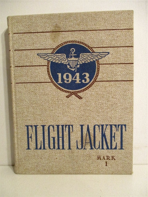 Image for 1943 Flight Jacket. Mark I.  U. S. N.  Air Training Center Pensacola Florida.