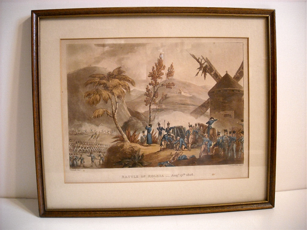 Image for Battle of Roleia Aug. 17, 1808.