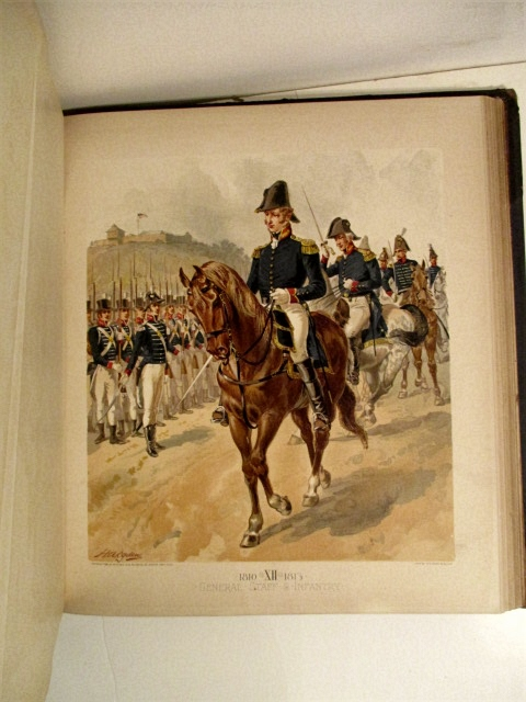 Image for Uniform of the United States Army  Vol. I. 1774-1889. Text & Plates.