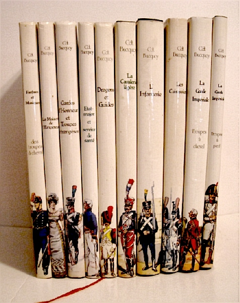 Image for Les Uniformes de Premier Empire. (Complete 10 Volume set).