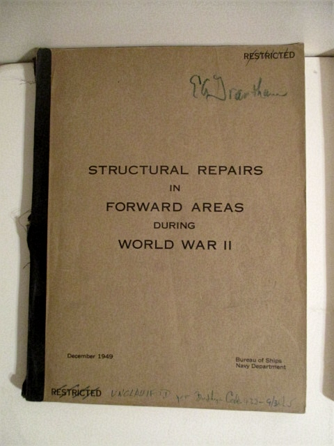 Image for Structural Repairs in Forward Areas During World War II.