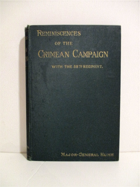 Image for Reminiscences of the Crimean Campaign, with the 55th Regiment.