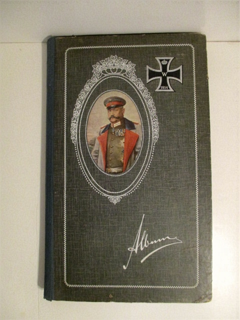Image for Album of German Imperial Military Postcards