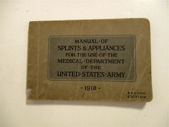 Image for Manual of Splits & Appliances for the Use of the Medical Department of the United States Army.