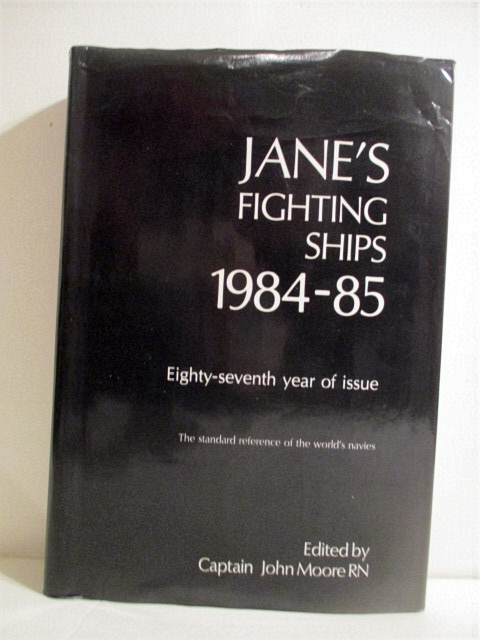 Image for Jane's Fighting Ships 1984-85.