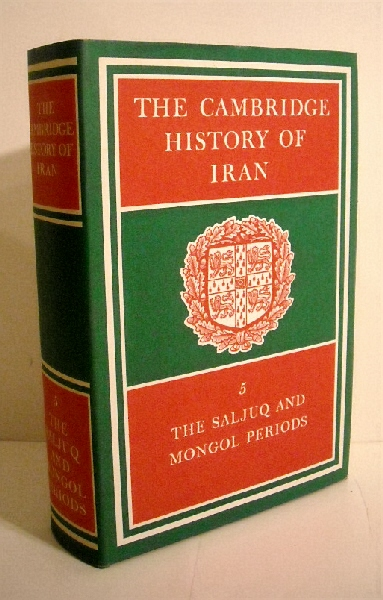 Image for Cambridge History of Iran. Volume 5. Saljuq & Mongol Periods.