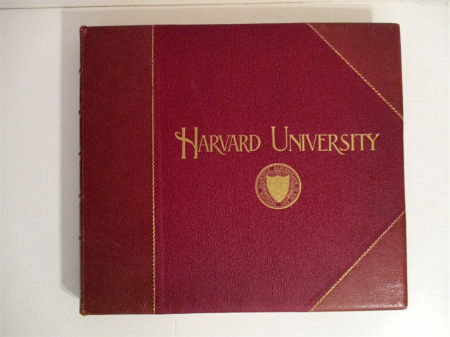 Image for Harvard University: A Gallery of One Hundred One Select Engravings, Representing the Lecture Halls, Museums, Art Galleries, Laboratories, Libraries, Dormitories, Clubhouses, Class Gates and Athletic Grounds as They Appear at the Beginning of the Twentieth