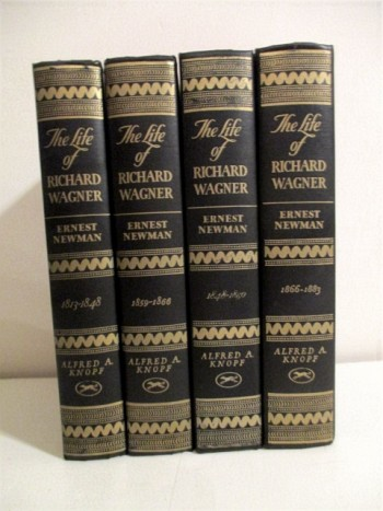 Image for Life of Richard Wagner. (4 Volume set).