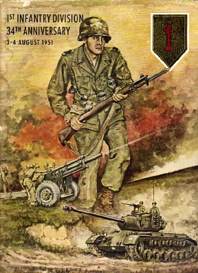 Image for 1st Infantry Division 34th Anniversary 3-4 August 1951. American Traveler. Vol XXII No. 31.