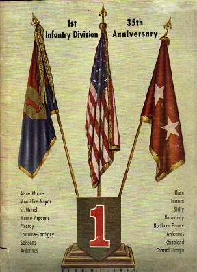 Image for 1st Infantry Division 35th Anniversary 1952.