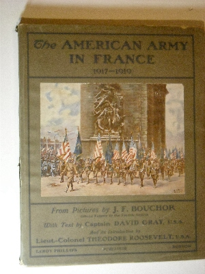 Image for American Army in France 1917-1919.