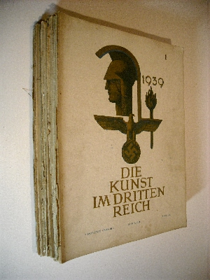Image for Die Kunst in Dritten Reich. Partial set of 18 issues 1939-1943.