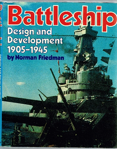 Image for Battleship: Design & Development 1905-1945.