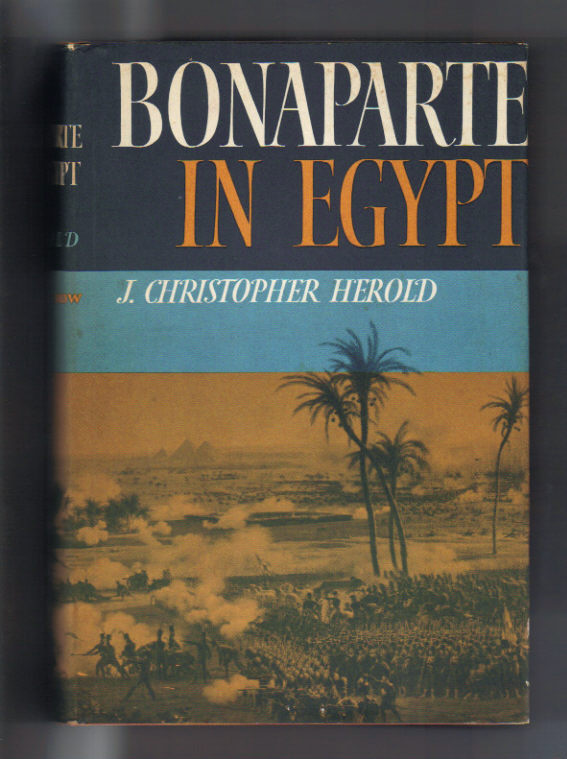 Image for Bonaparte in Egypt.