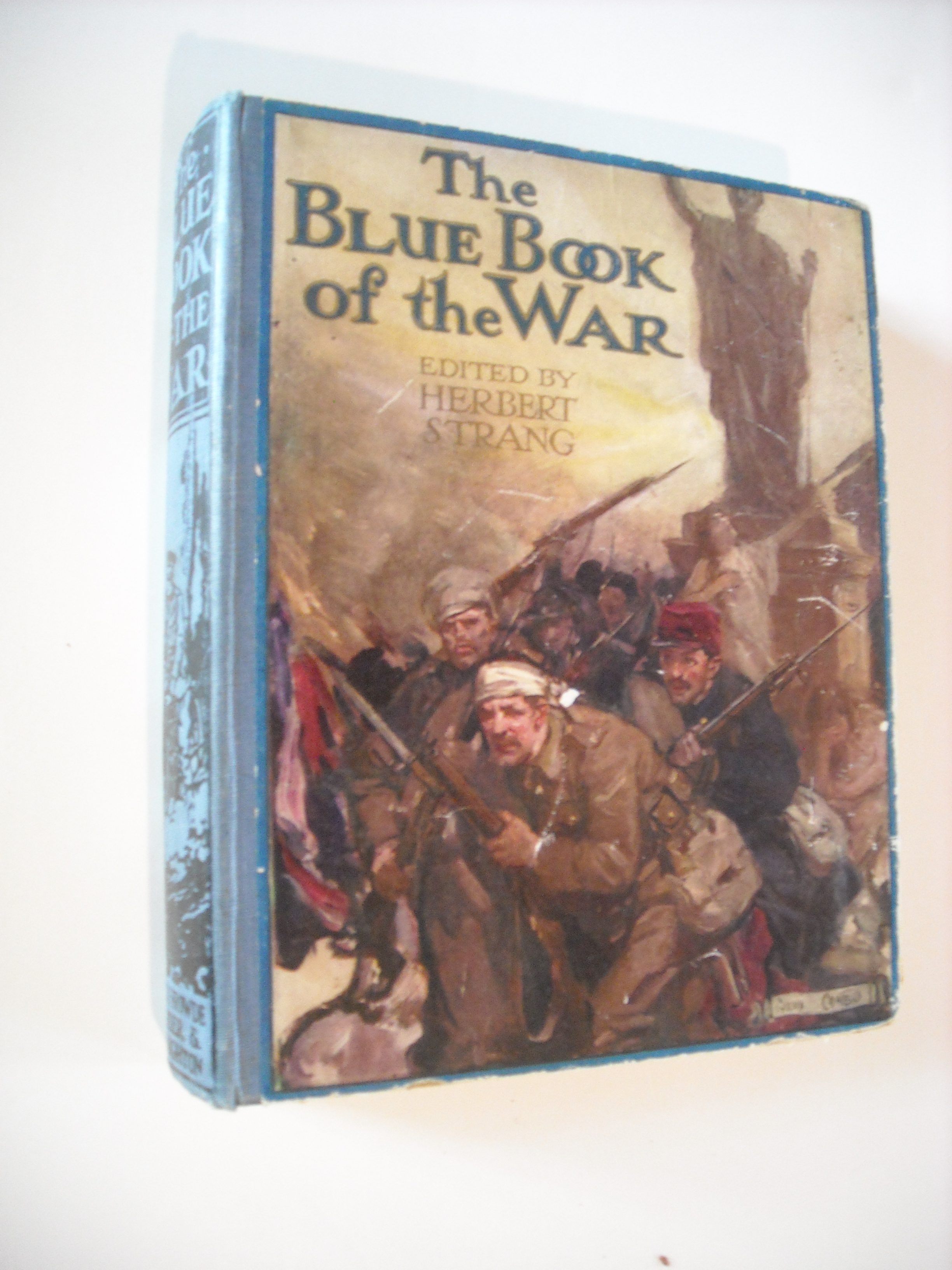 Image for Blue Book of the War.