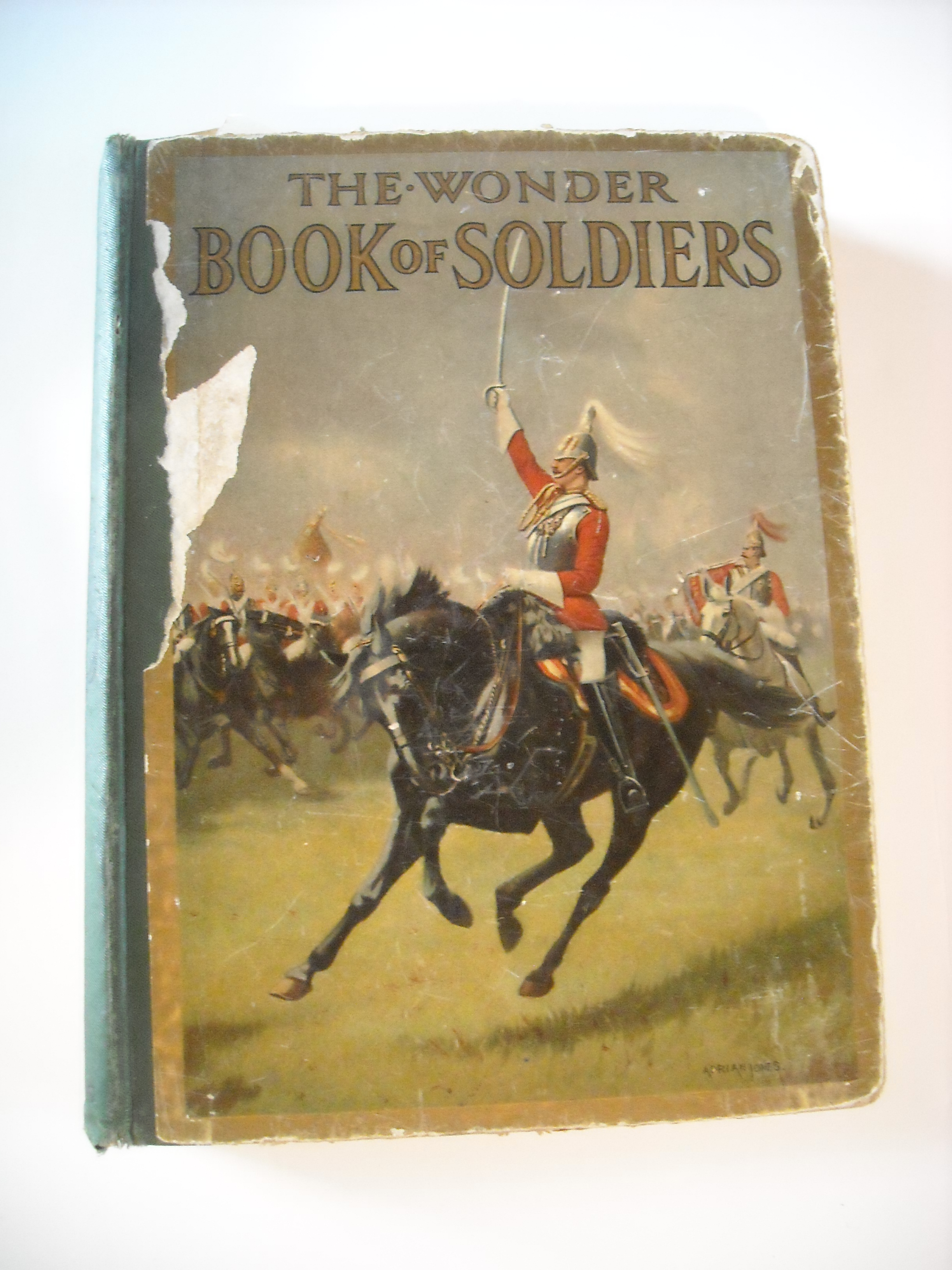 Image for Wonder Book of Soldiers for Boys and Girls.