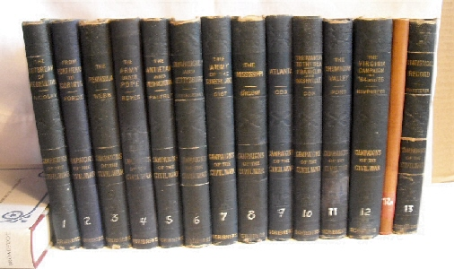Image for Campaigns of the Civil War. (14 Volumes).